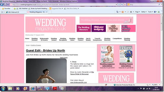 Brides Up North Wedding Blog Guest Edit Wedding Magazine
