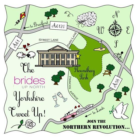 Brides Up North Wedding Blog: Cute Maps