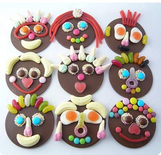 Brides Up North Wedding Blog: Chocolate Funny Faces