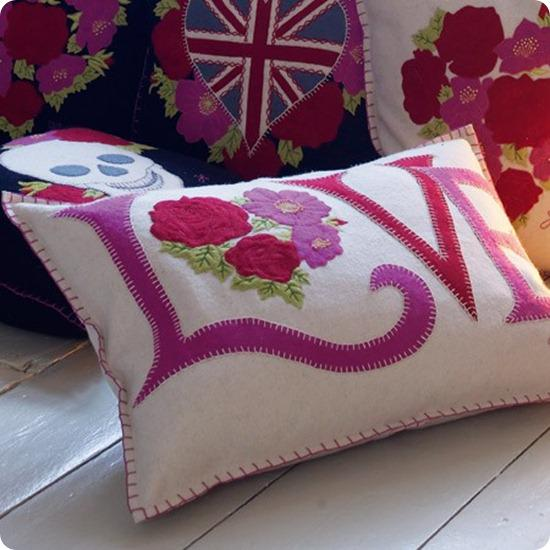 Brides Up North Wedding Blog: Love Vintage Cushion