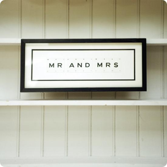 Brides Up North Wedding Blog: Mr & Mrs Vintage Framed Playing Cards