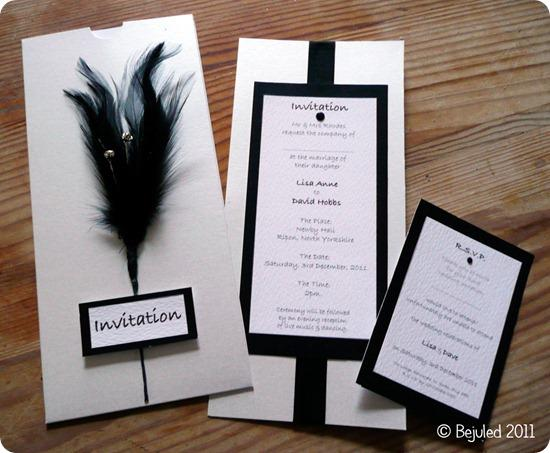 Brides Up North Wedding Blog: Bejuled Handmade Wedding Stationery
