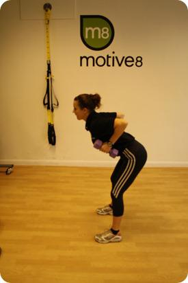 Brides Up North Wedding Blog: BOOTCAMP: Dumbbell Bent Over Row