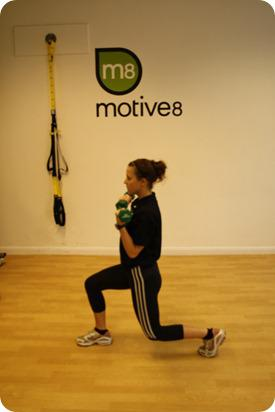Brides Up North Wedding Blog: BOOTCAMP: Alternating Lunge With Bicep Curl
