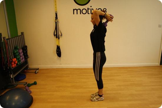 Brides Up North Wedding Blog: BOOTCAMP: Alternating Lunge With Tricep Overhead Extensions
