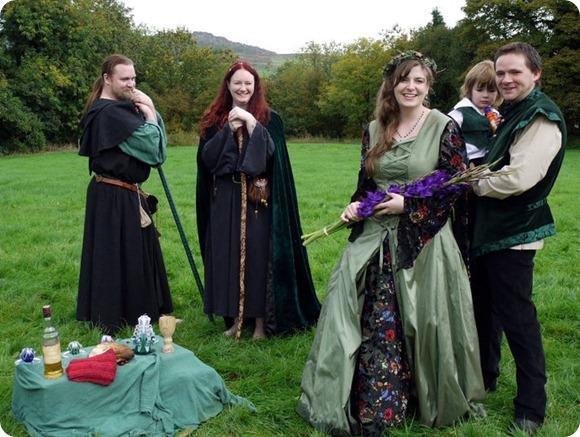 At one pagan handfasting supplier showcase cat treadwell brides up north wedding blog cat treadwell druid priest pagan handfasting junglespirit Image collections