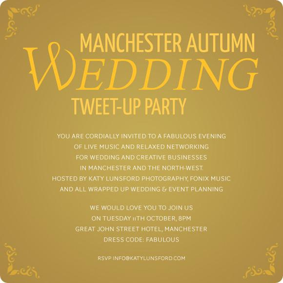 Brides Up North Wedding Blog: All Wrapped Up/ Fonix Music/ Katy Lunsford Photography Tweet Up
