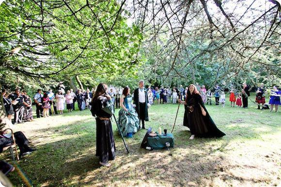 Brides Up North Wedding Blog Cat Treadwell Druid Priest Pagan Handfasting