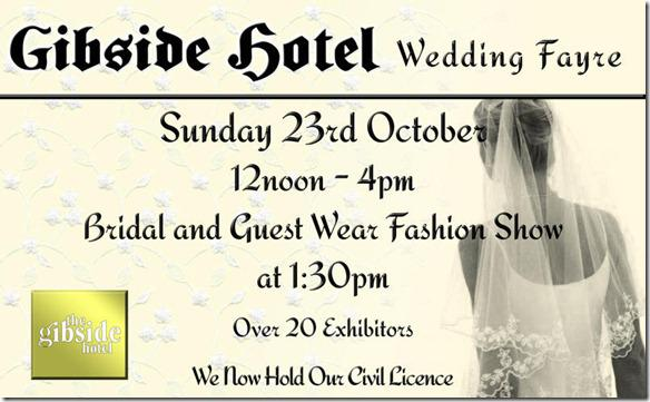 Brides Up North Wedding Blog: Gibside Hotel Wedding Fayre