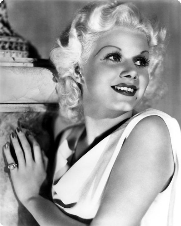 Brides Up North UK Wedding Blog: Jean Harlow via doctormacro.com