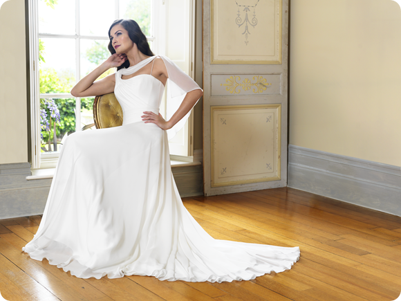 Suzanne Neville Wedding Dress Designer