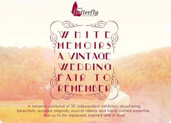 Brides Up North UK Wedding Blog: White Memoirs Vintage Wedding Fair